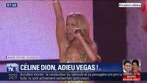 Après 16 ans de représentations, Céline Dion a donné son dernier concert à Las Vegas samedi soir