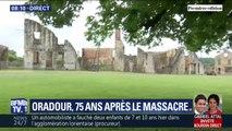 75 ans après le massacre, le village d'Oradour-sur-Glane est resté figé