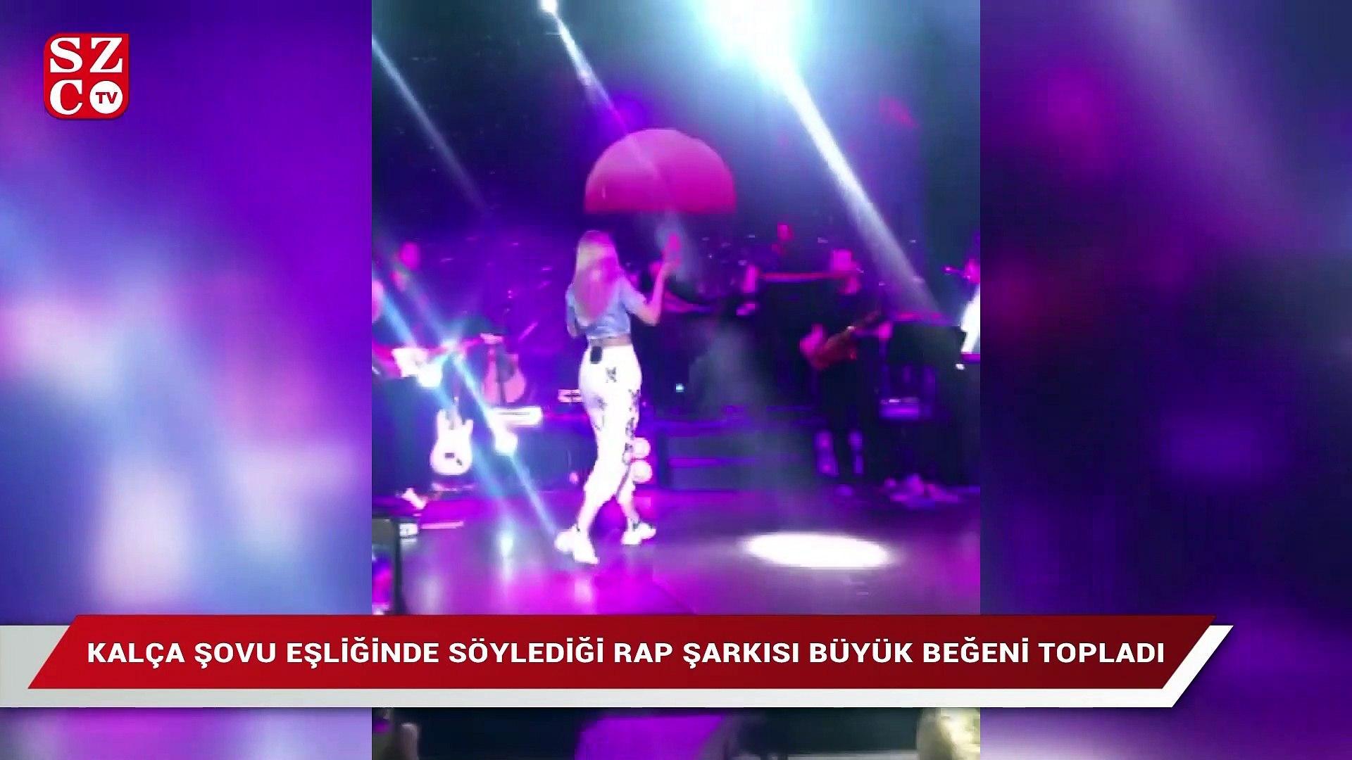 Aleyna Tilki'den 'twerk' dansı