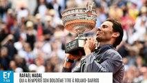 """Roland-Garros : """"Lorsque je m'écroule sur le court, je ne réfléchis à rien, c'est l'adrénaline qui descend"""", confie Rafael Nadal après son 12e titre"""