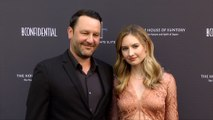 Dan Fogelson and Caitlin Thompson LA Confidential Magazine Impact Awards Red Carpet