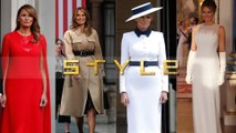 What Melania Trump wore when she went to see the queen