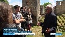 Haute-Vienne : Robert Hébras, dernier témoin du massacre d'Oradour-sur-Glane