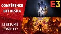 E3 2019 : Résumé de la conférence Bethesda