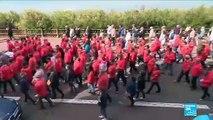 Plus de 15 000 personnes rendent hommage aux sauveteurs des Sables d'Olonne