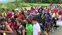 Venezuela moves containers to partially re-open Colombia border bridge