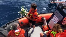 La SNSM de La Ciotat rend hommage aux victimes des Sables-d'Olonne