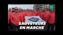 L'hommage émouvant aux sauveteurs SNSM des Sables-d'Olonne