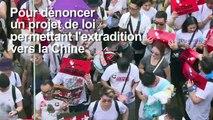 Hong Kong: heurts lors d'une manifestation monstre
