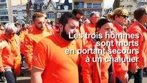 Sables-d'Olonne: hommage aux sauveteurs de la SNSM