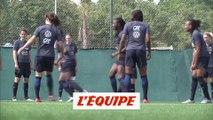 Renard et Le Sommer absentes de l'entraînement - Foot - Bleues