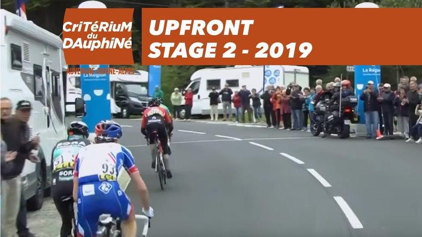 Upfront  - Étape 2 / Stage 2 - Critérium du Dauphiné 2019