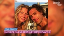 Gwyneth Paltrow Reveals She and Husband Brad Falchuk Don't Live Together Full-Time
