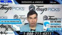 Los Angeles Dodgers vs Los Angeles Angels 6/10/2019 Picks Predictions Previews