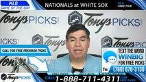 Washington Nationals vs Chicago White Sox 6/10/2019 Picks Predictions Previews