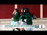 La SEP aclara que el uniforme neutro es sólo para niñas   Noticias con Francisco Zea