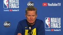 Steve Kerr Full Interview - Game 4 Preview _ 2019 NBA Finals Media Availability