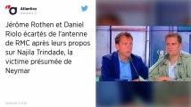 Affaire Neymar. Daniel Riolo et Jérôme Rothen suspendus d'antenne par la direction de RMC