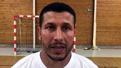 Finale Coupe LAuRA Futsal – Najib ZIANI réagit après la défaite de COURNON Futsal contre FS MONT D'OR