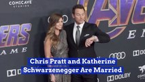 Chris Pratt Is Officially Married Again