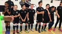 Finale Coupe LAyRA Futsal - Les pépites de l'académie FS MONT D'OR après la finale contre COURNON Futsal