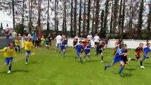 Tournoi GFL à Ennezat - L'entrée des joueurs