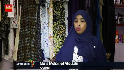 Somalie : Awa, la jeune styliste se révèle