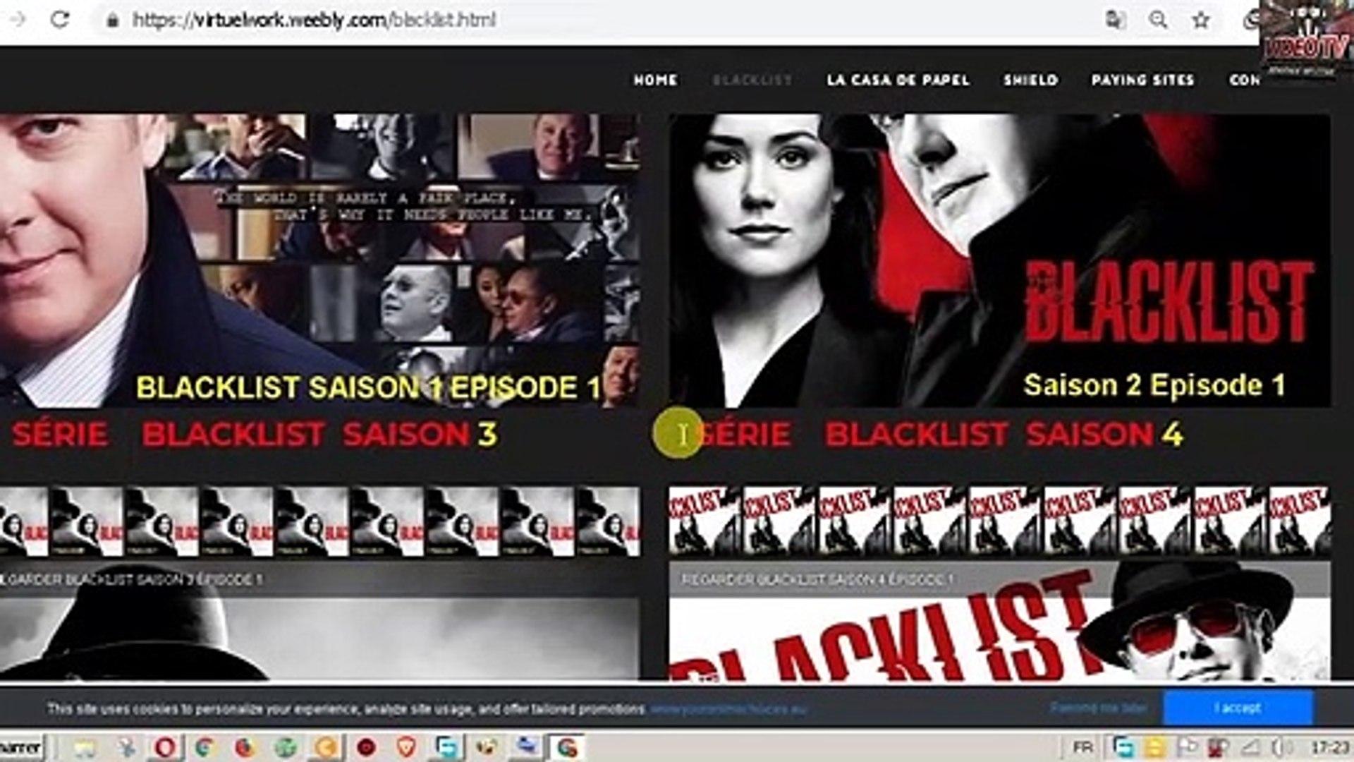 SÉRIE    BLACKLIST  SAISON 4 complete