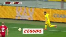 Le but d'Ukraine-Luxembourg - Foot - Qualif. Euro