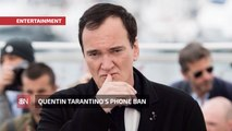 Quentin Tarantino Does Not Play Games On His Movie Set