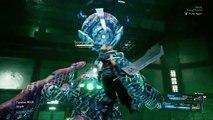 Final Fantasy VII-Remake - Scorpion Sentinel Boss Battle Demo - E3 2019