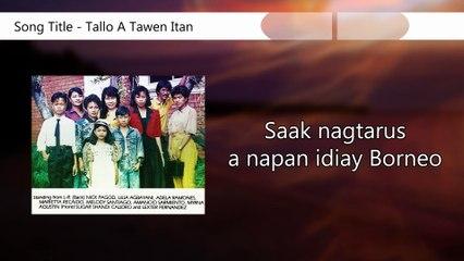 Bukros Singers - Tallo A Tawen Itan (Lyrics Video)