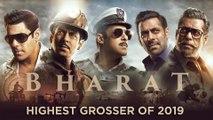 Bharat Is 2019's Biggest Film | Salman Khan Katrina Kaif | Box Office Report
