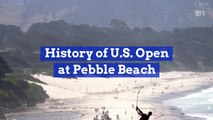 A Look Back At The Incredible Pebble Beach Golf Course