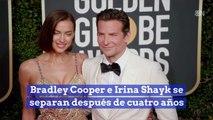 Bradley Cooper e Irina Shayk se separan después de cuatro años