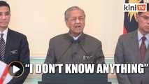Maybe you can brief me, Dr Mahathir tells reporter after being quizzed on obscene video