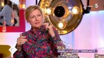 """Le rêve américain ? Très peu pour Isabelle Huppert que ça n'intéresse pas du tout ! """"Le cinéma n'appartient pas à l'Amérique"""" - Vidéo"""