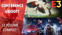 E3 2019 : Résumé de la conférence Ubisoft