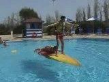 Le kayak de piscine