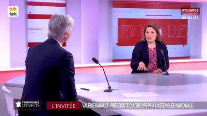 Valérie Rabault - Public Sénat mardi 11 juin 2019