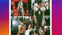 Cette actrice risque une amende salée à cause de sa robe à Cannes