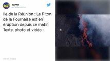 La Réunion. Le Piton de la Fournaise en éruption pour la deuxième fois en 2019