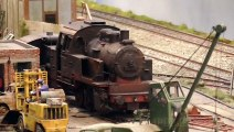 Perfect Weathering: Scrapyard Model Railroad Layout by Samuel de Zutter in 1/32 scale - Pilentum Television - Model Railroading and Railway Modelling