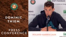 Dominic Thiem - Press Conference after Final - Roland-Garros 2019