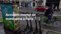 Accident mortel de trottinette électrique lundi soir à Paris