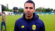 Tournoi International U15 CS Neuville - Maxime BATY (entraineur FC Nantesà réagit après la victoir en finale de son équipe