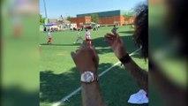Le fils de Marcelo claque un triplé dont un ciseau acrobatique