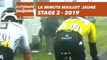 Yellow Jersey Minute / Minute Maillot Jaune - Étape 2 / Stage 2 - Critérium du Dauphiné 2019
