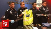 Three bogus cops nabbed over spate of robberies near beach