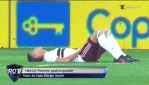 Hector Moreno podría quedar fuera de la Copa. | Azteca Deportes